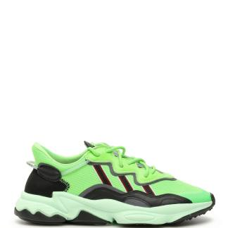 ADIDAS OZWEEGO SNEAKERS 6,5 Green, Black Leather, Technical