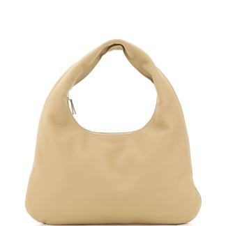 THE ROW 0 OS Beige Leather