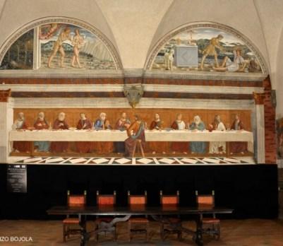 Badia a Passignano ultima cena cenacolo ghirlandaio