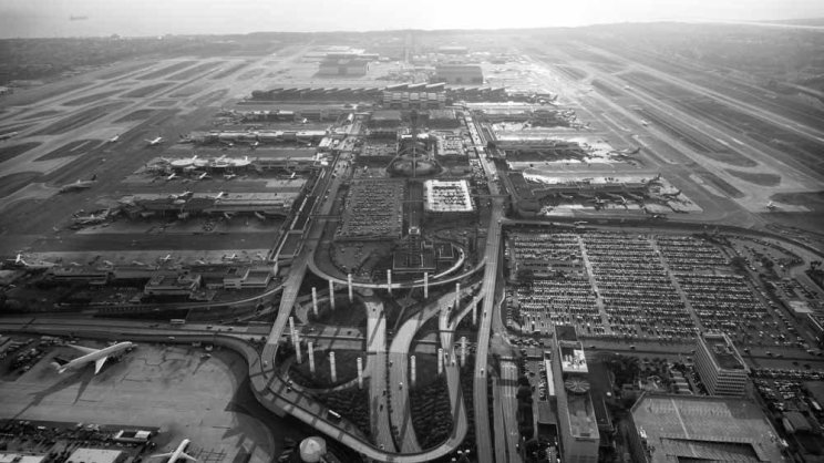Los Angeles International Airport - Aerial photography