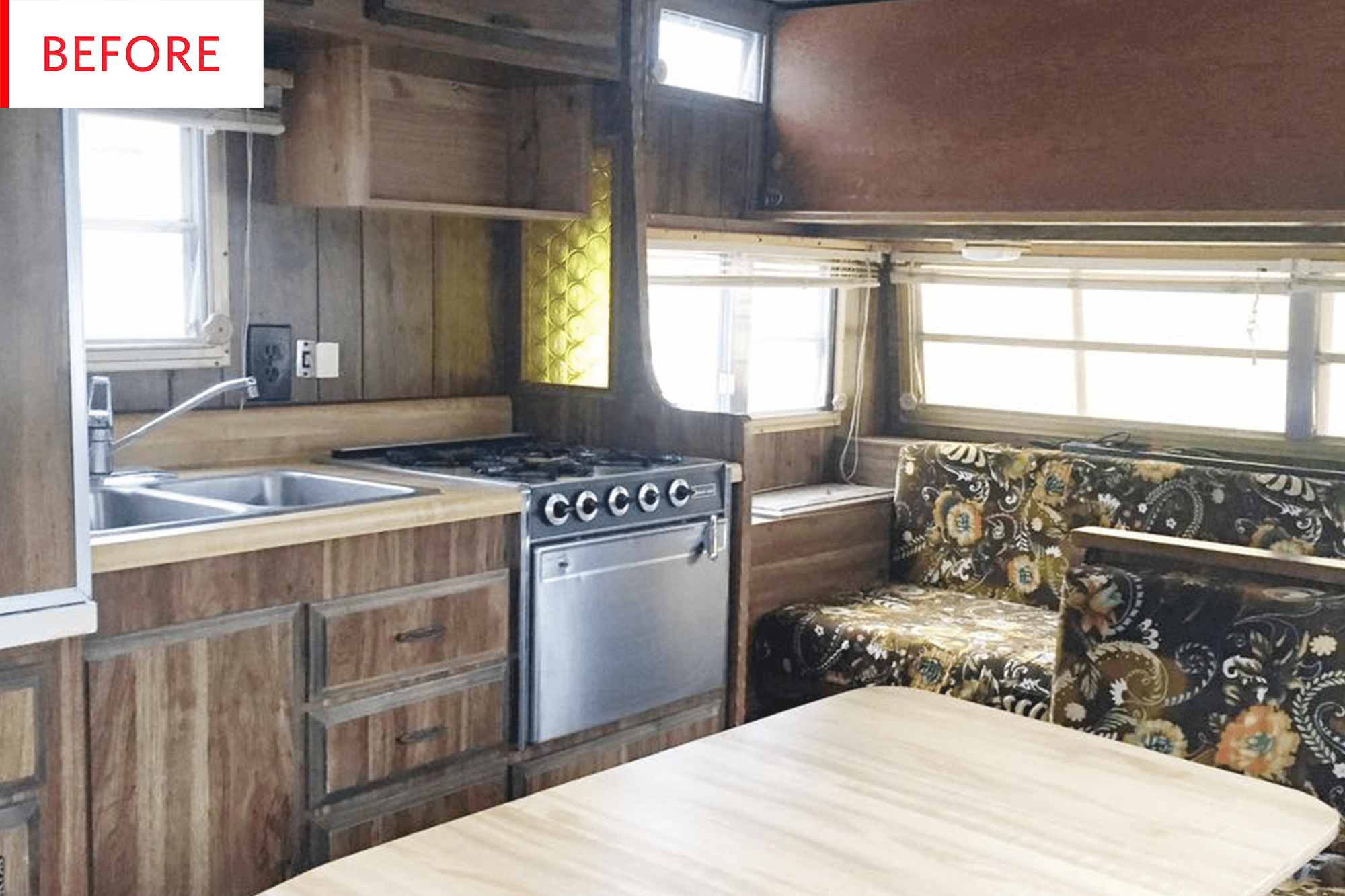 Small Travel Trailer Remodel Vintage Shasta Apartment