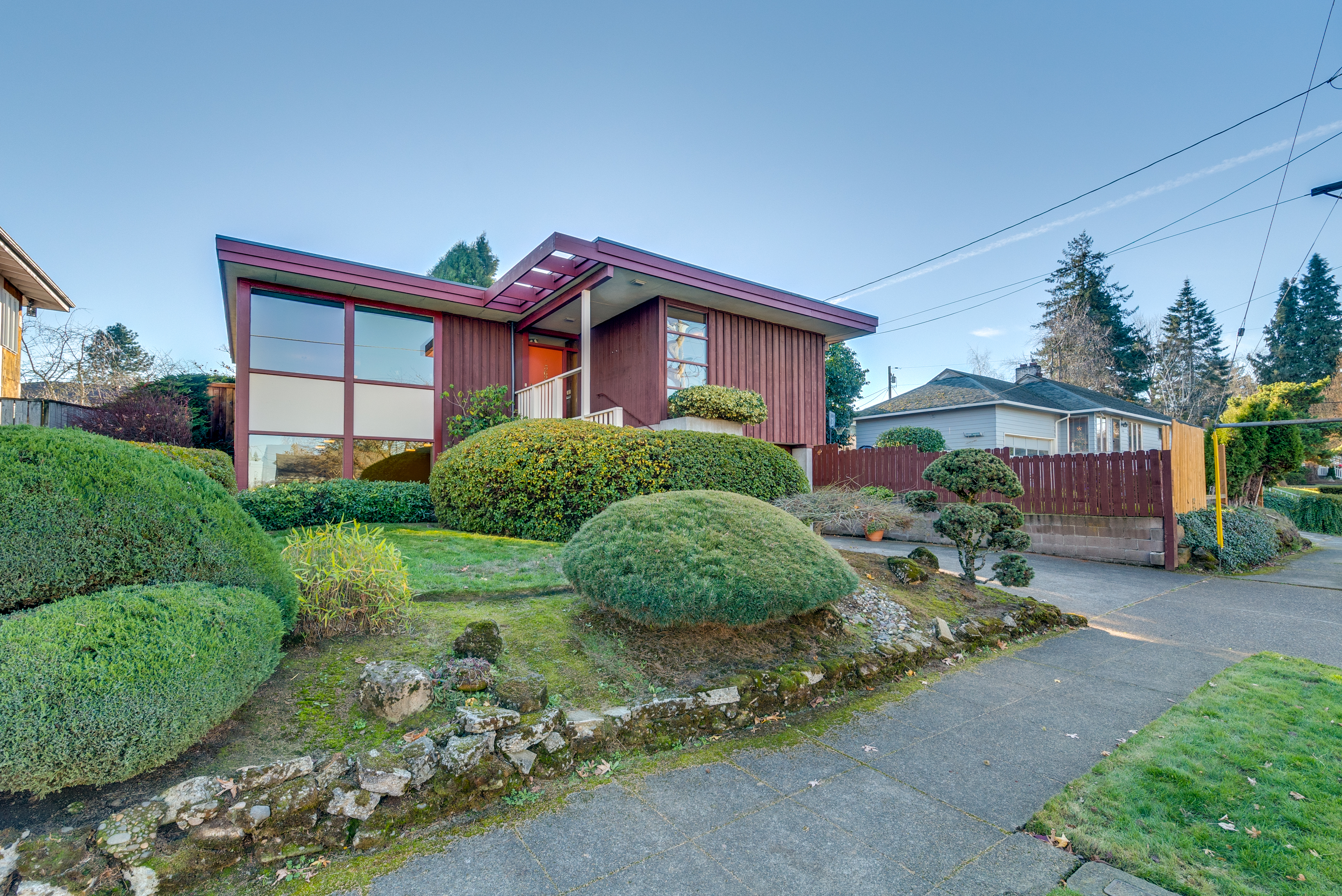 Frank Lloyd Wright Inspired Portland Home For Sale Photos Apartment Therapy