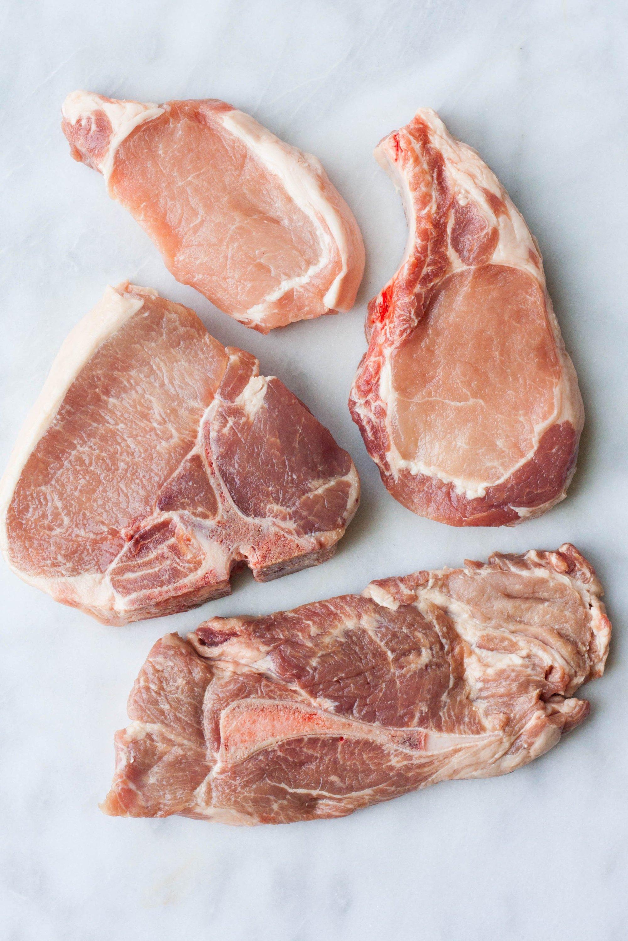 hight resolution of pig rib diagram