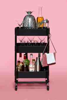 The Ikea Raskog Cart As Home Bar Kitchn