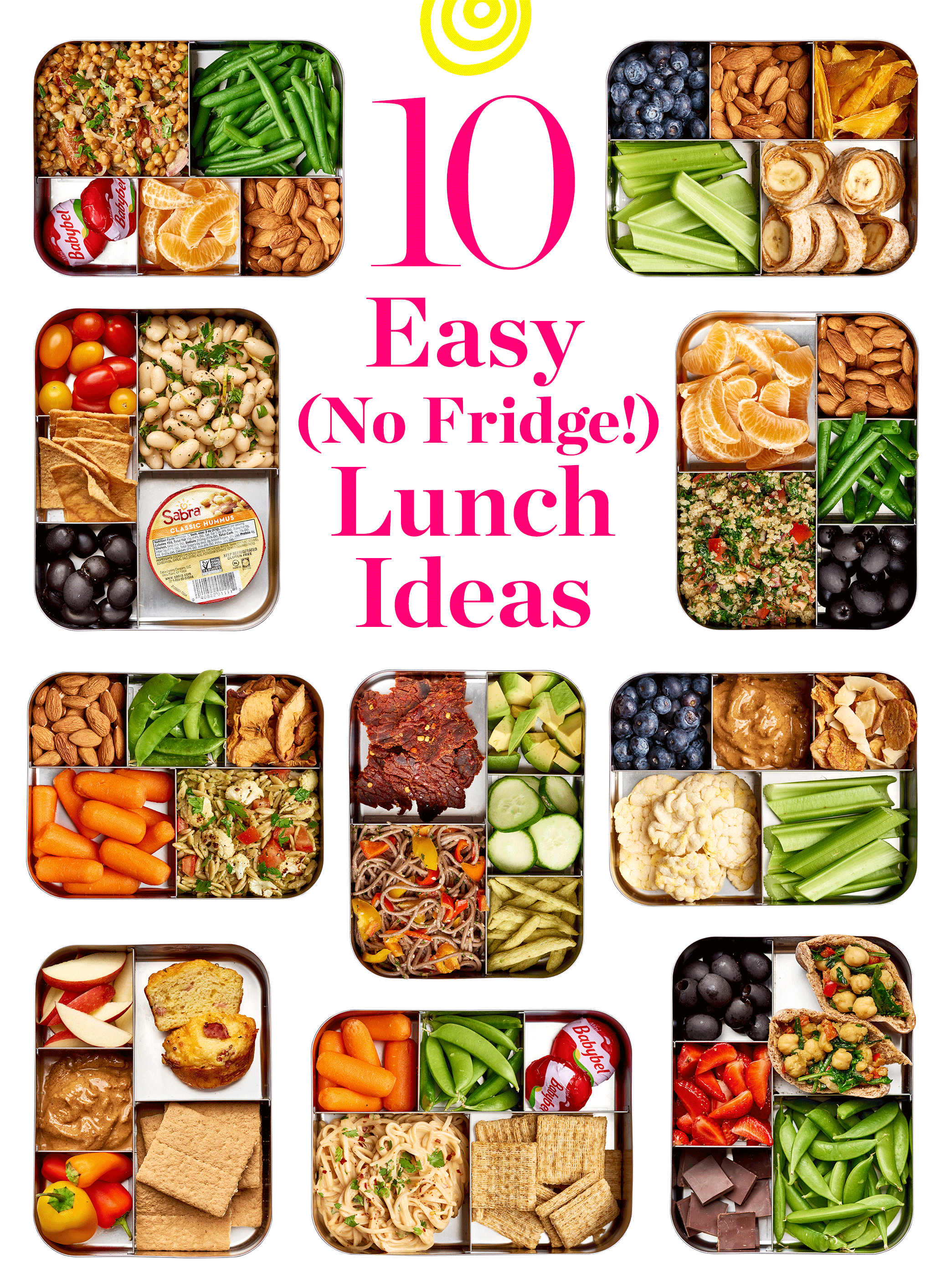 easy no refrigerate lunch