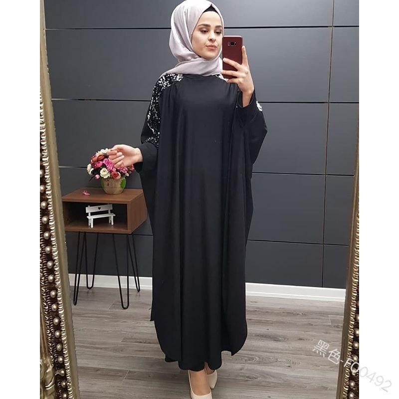 African Kaftan One Size Djellaba Moroccan Kaftan autumn dress Arabian Abaya Dubai Dress