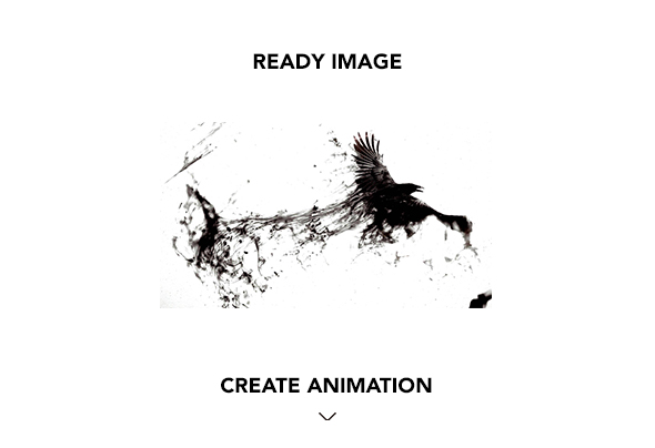 Gif Animated Watercolor and Ink Effect Photoshop Action by
