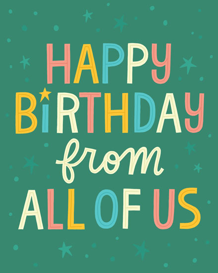 Office Space Happy Birthday : office, space, happy, birthday, Group, Cards, Office, Greeting, Choose