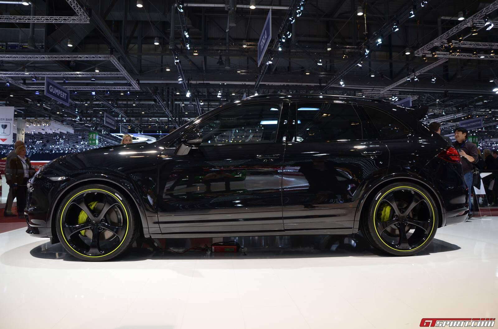 Geneva 2013 Techart Porsche Cayenne S Diesel Gtspirit