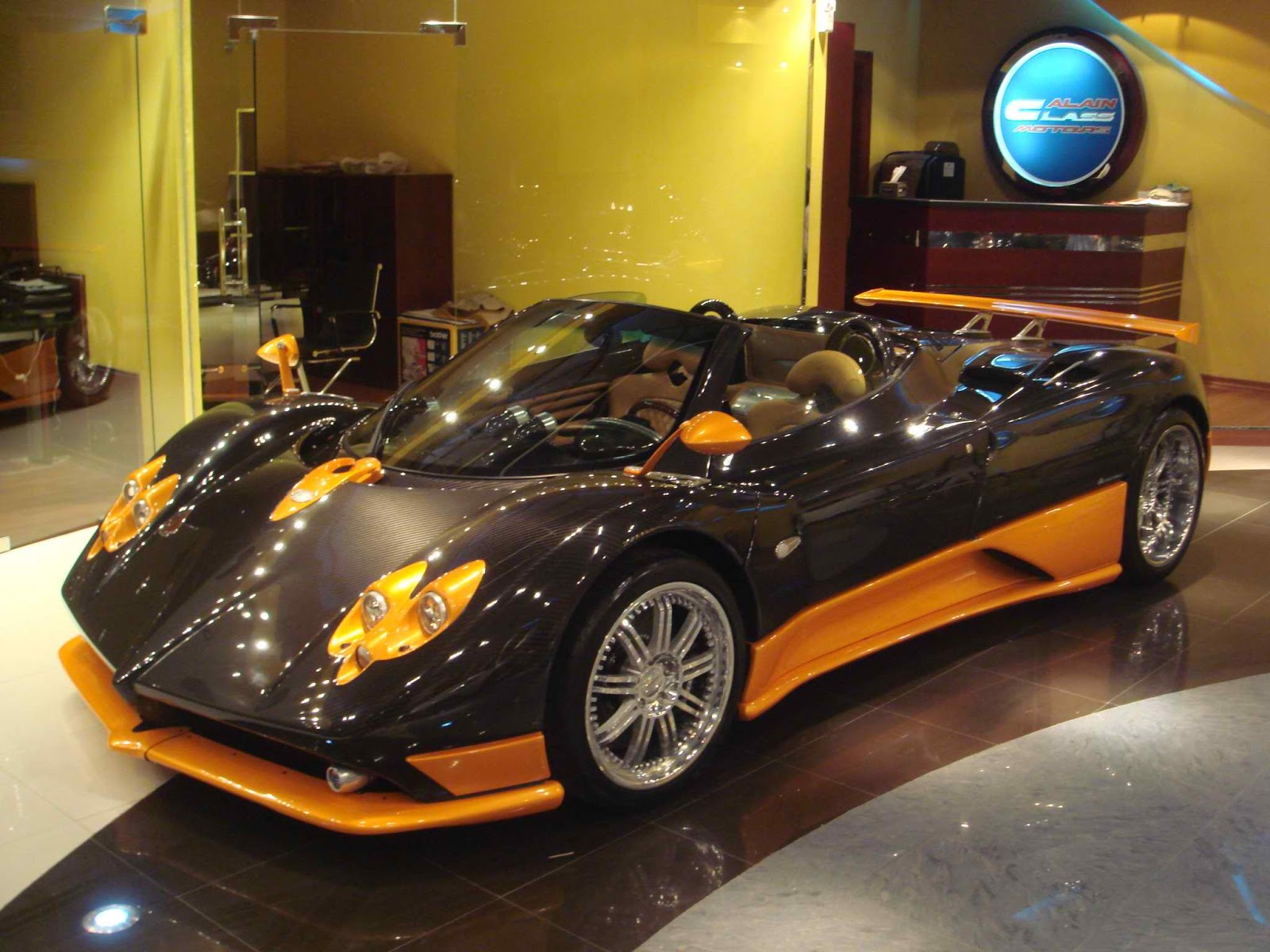 Pagani Zonda F Roadster With 14 Million Number Plate