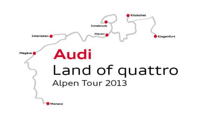 Special Report: Audi Land of Quattro Alpen Tour 2013