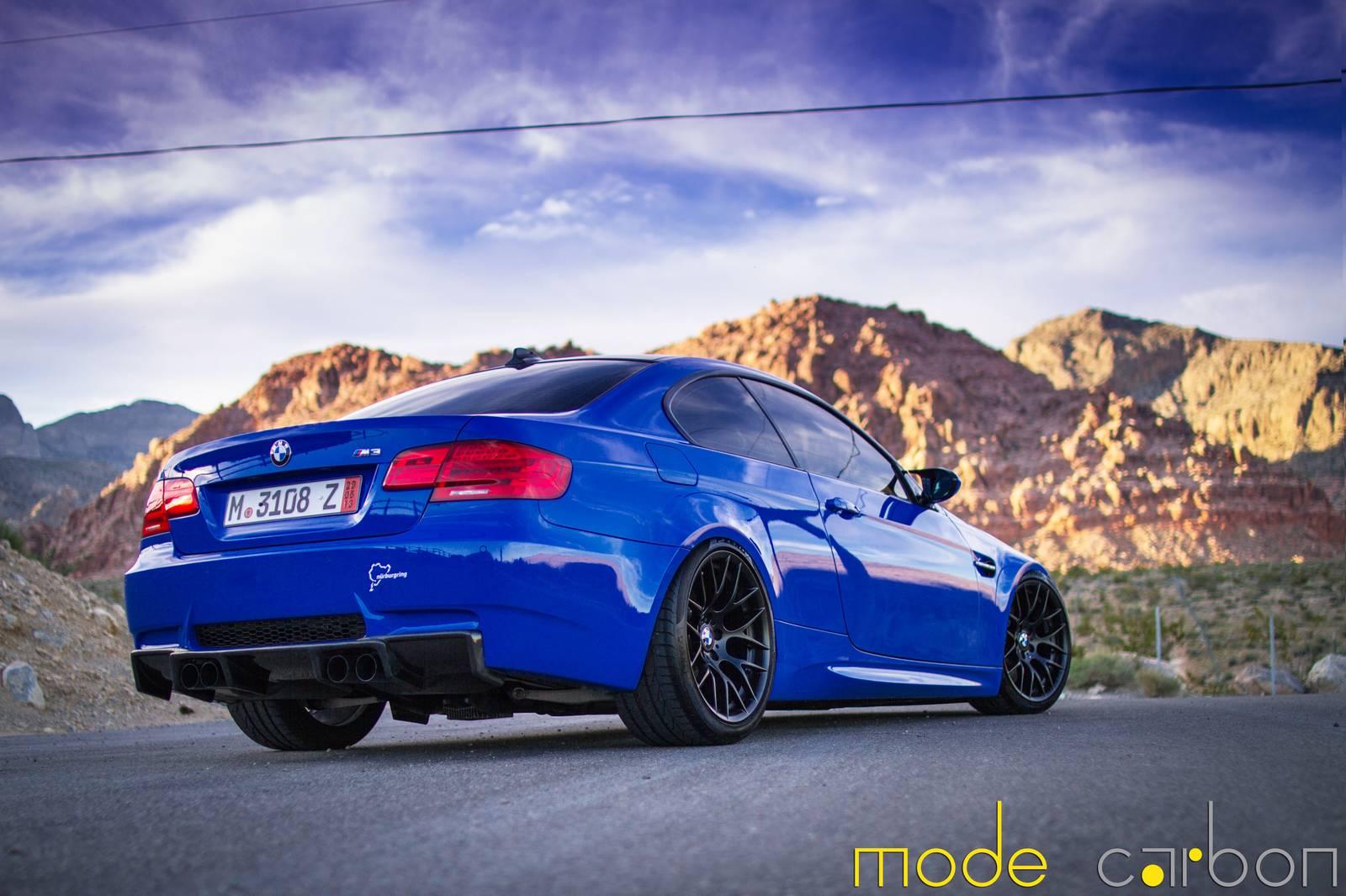 Santorini Blue BMW E92 M3 by Mode Carbon - GTspirit