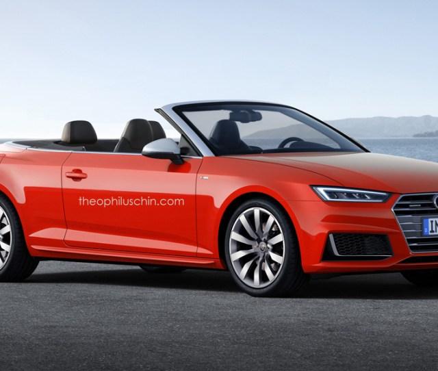 Audi A Cabriolet Rendered
