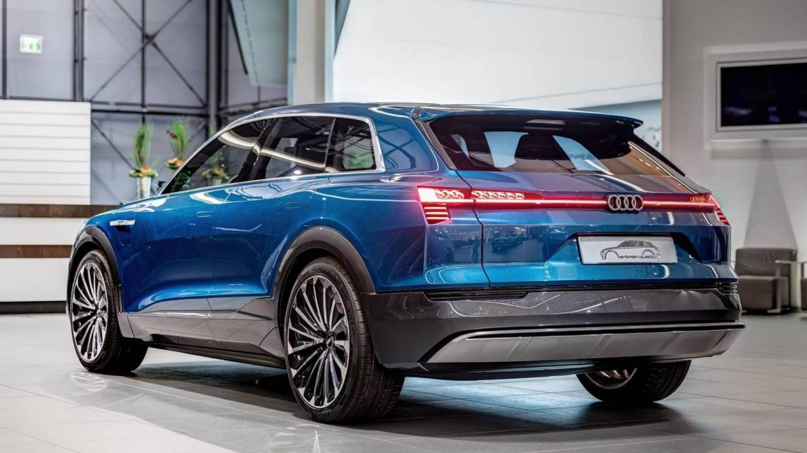 audi to begin production of electric suvs in brussels2018
