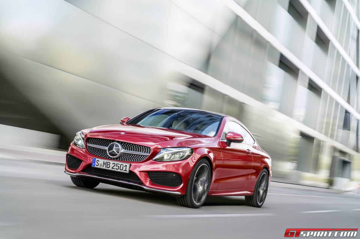 hight resolution of mercedes benz c class coupe order books open