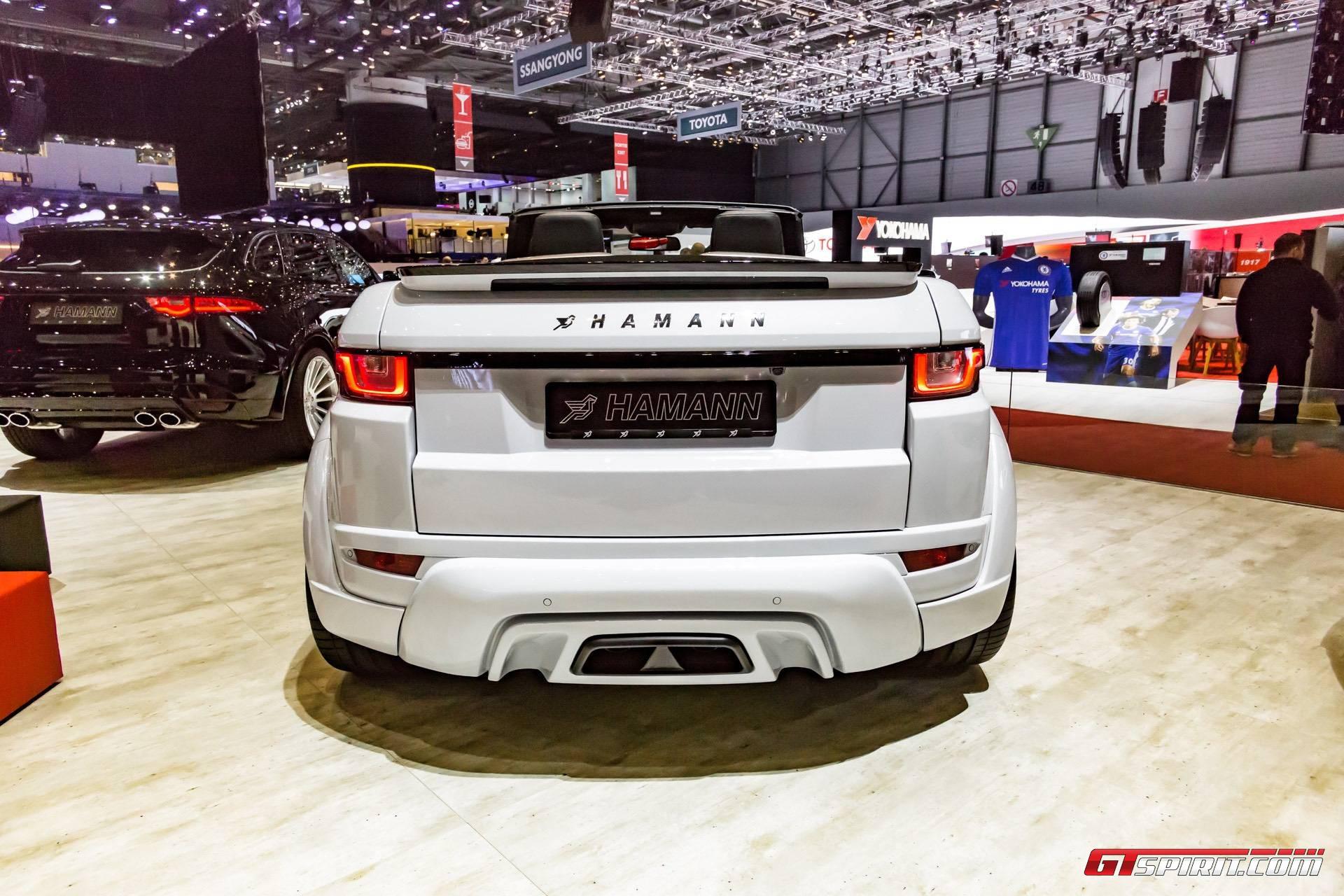 Geneva 2017 Hamann Range Rover Evoque Convertible GTspirit