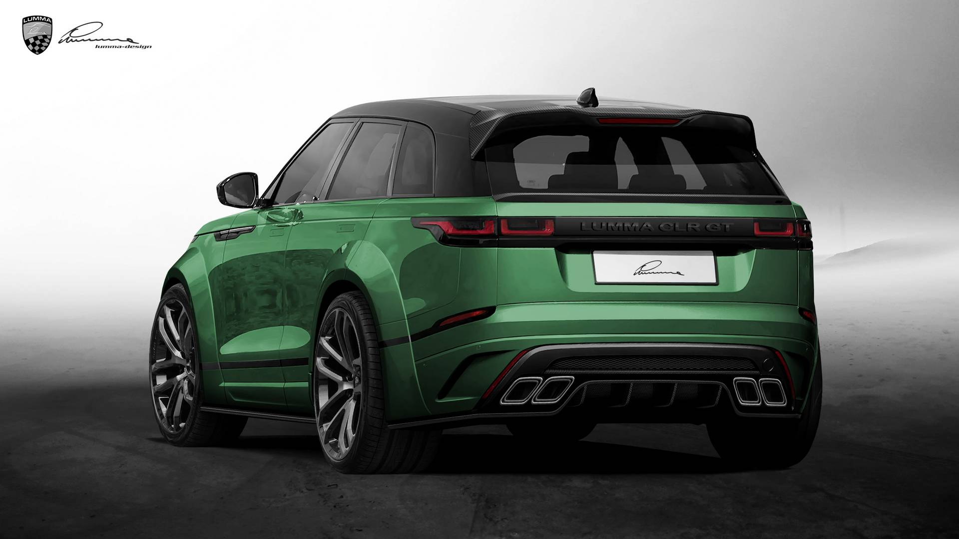 ficial Lumma Design Range Rover Velar CLR GT GTspirit
