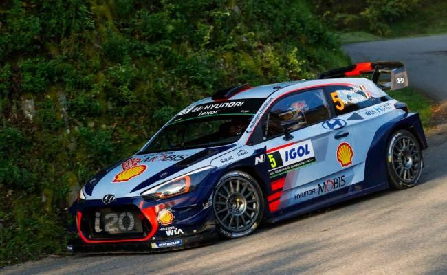 Wrc Hyundai S Thierry Neuville Wins Tour De Corse 2017