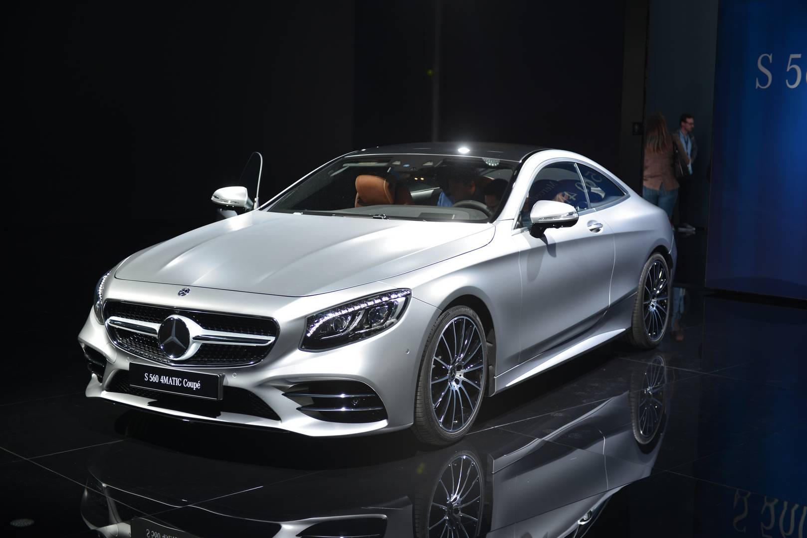 Iaa Frankfurt 2017 Mercedesbenz S560 Coupe  Gtspirit