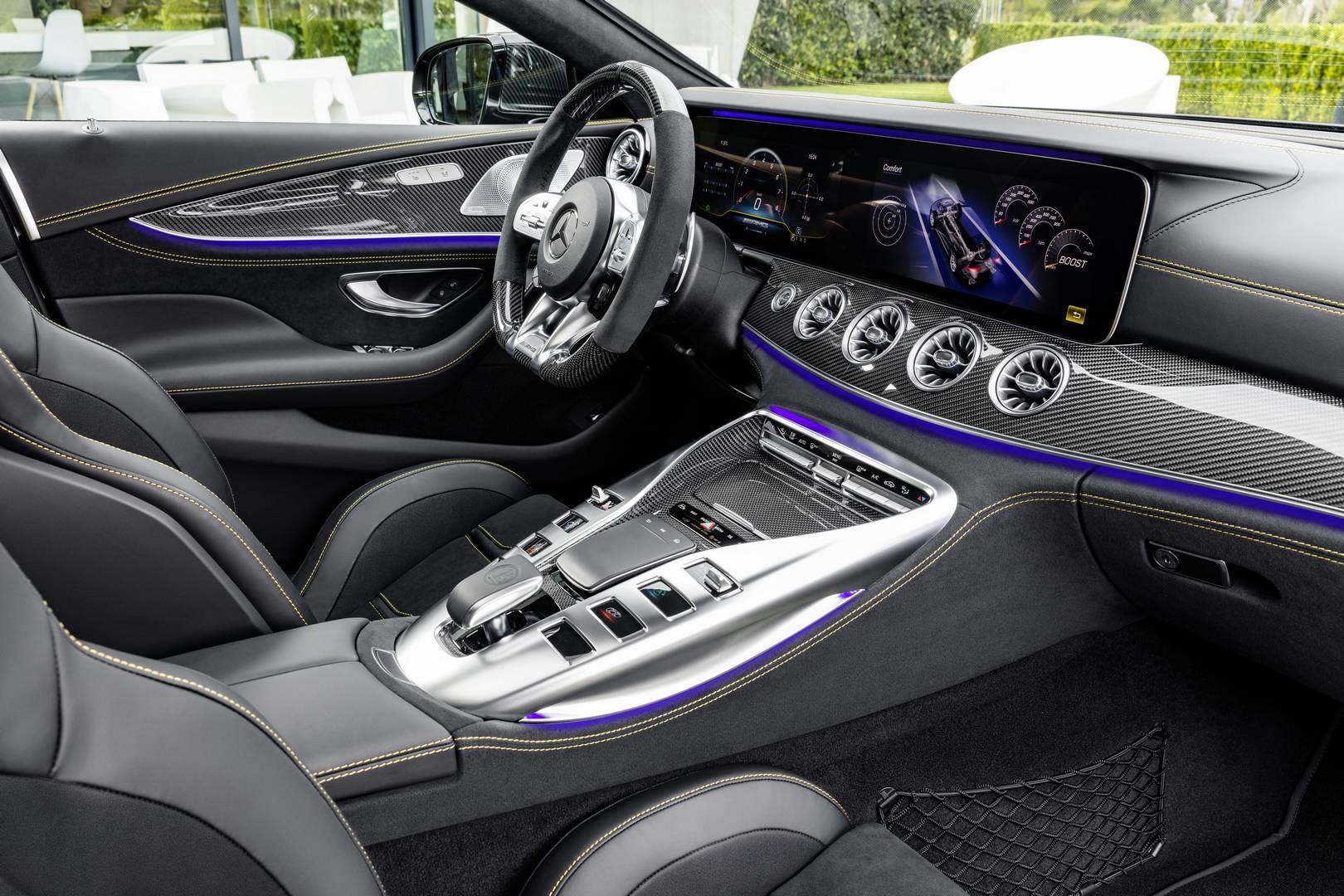 Official 2019 Mercedes AMG GT 4 Door Coupe GT 53 GT 63