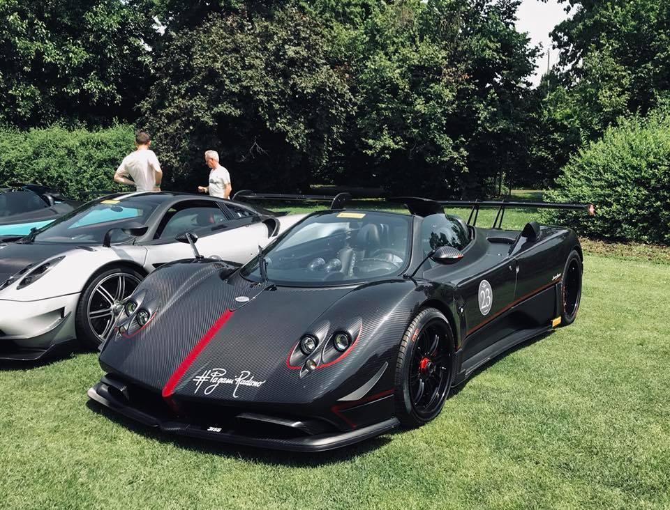 Ferrari Sp38 Owner Reveals New Pagani Zonda Aether Gtspirit