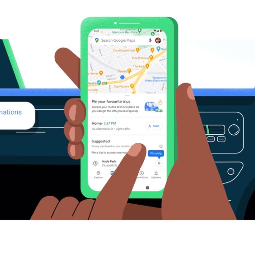 La nueva pestaña Ir en Google Maps está disponible hoy