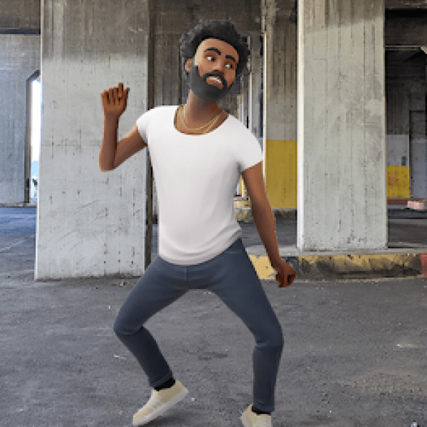 Childish Gambino dances into Playground on Pixel