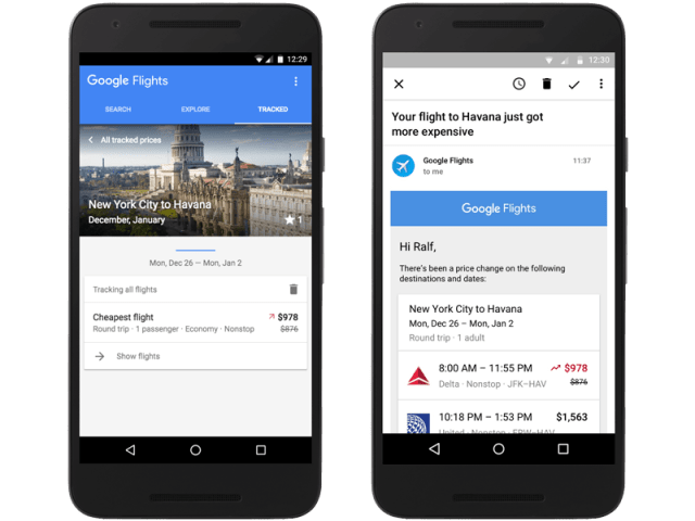 Dynamic pricing notifications