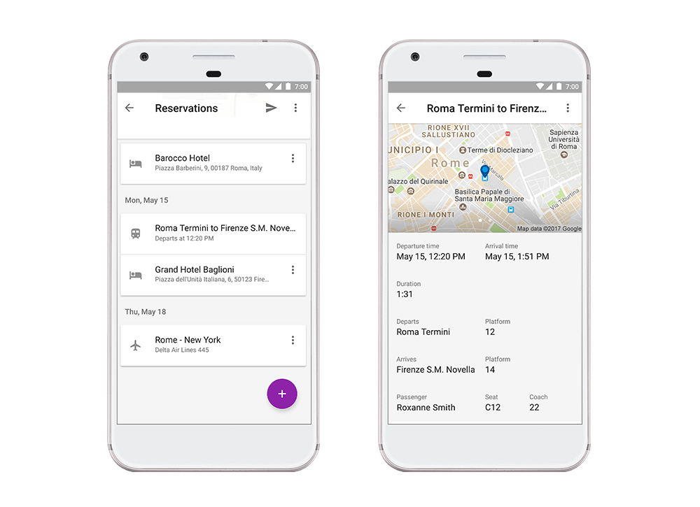 Google Trips Update: Automatically organize your trip