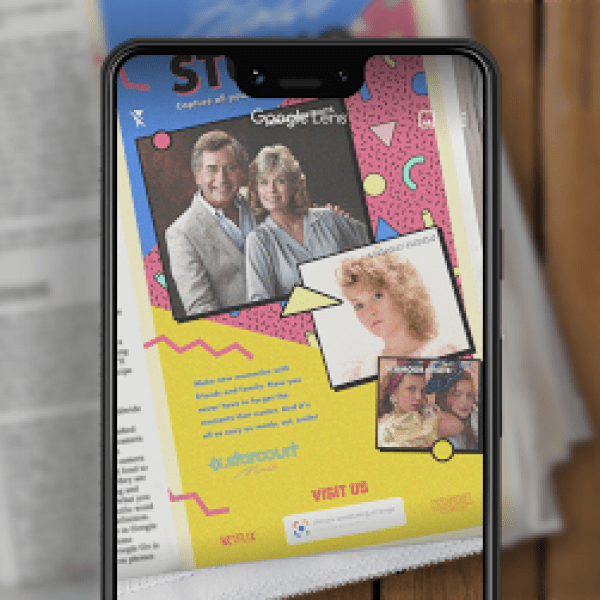 With Google Lens, Things get Strange in today's New York Times