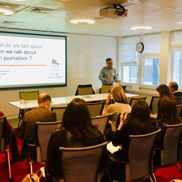 Journalism AI workshop