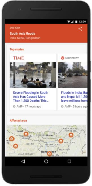 SOS Alerts - South Asia Flooding