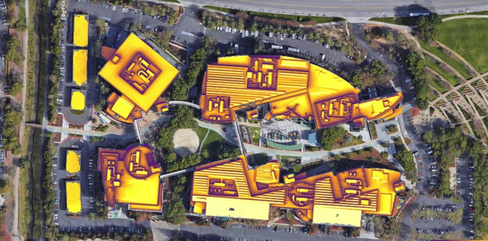 Google S New Sun Map Indicates Whether Your Rooftop Needs