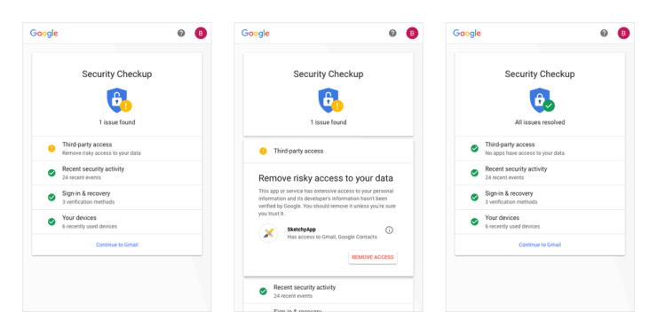 security checkup update - en