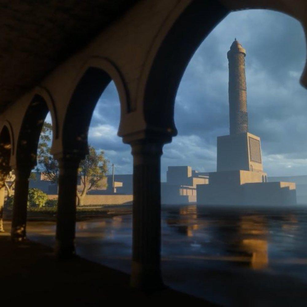 """Résultat de recherche d'images pour """"mosul mosquee google arts culture 3d"""""""