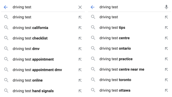 Google explaining how Autocomplete predictions are generated
