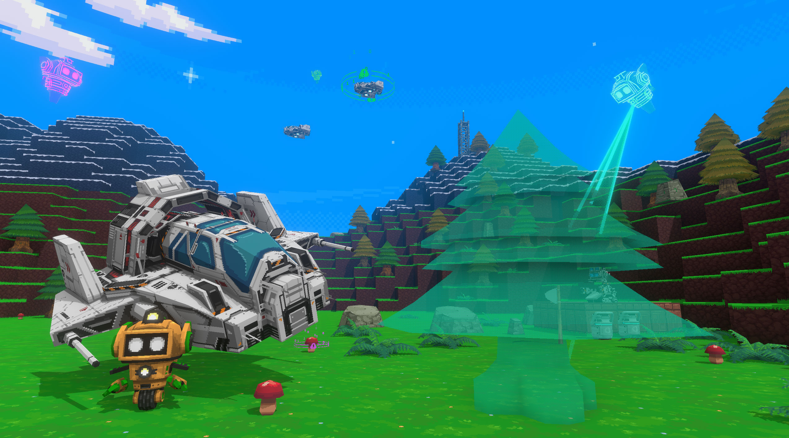create 3d games with