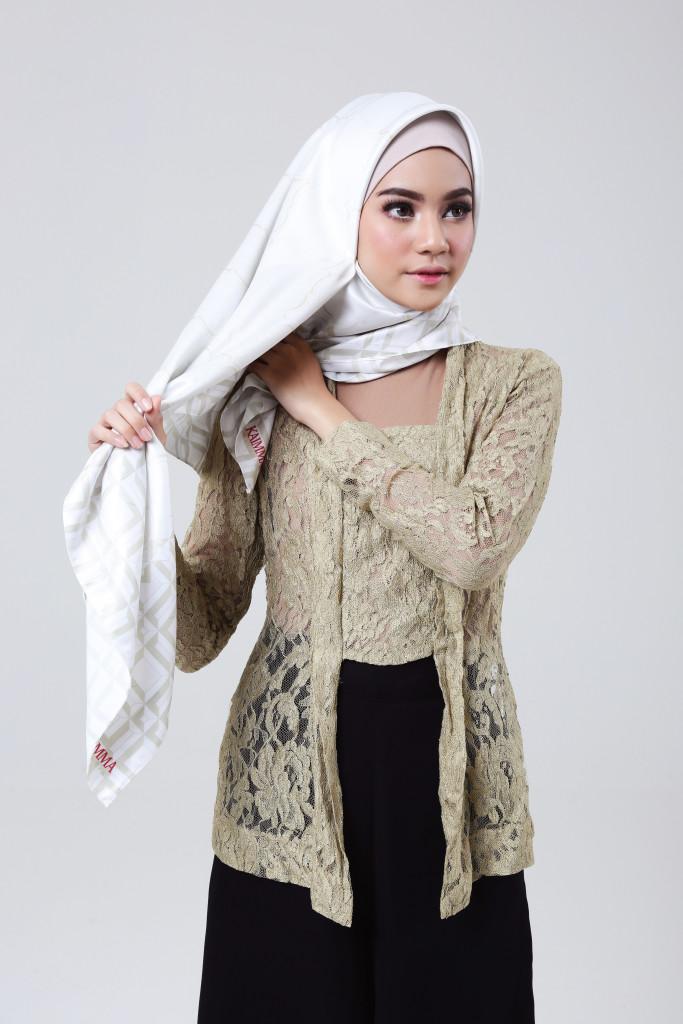 Tutorial Hijab Untuk Kebaya Kutu Baru : tutorial, hijab, untuk, kebaya, Tutorial, Hijab, Untuk, Kebaya