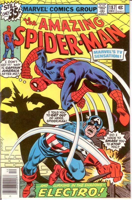 spiderman 187 vg f