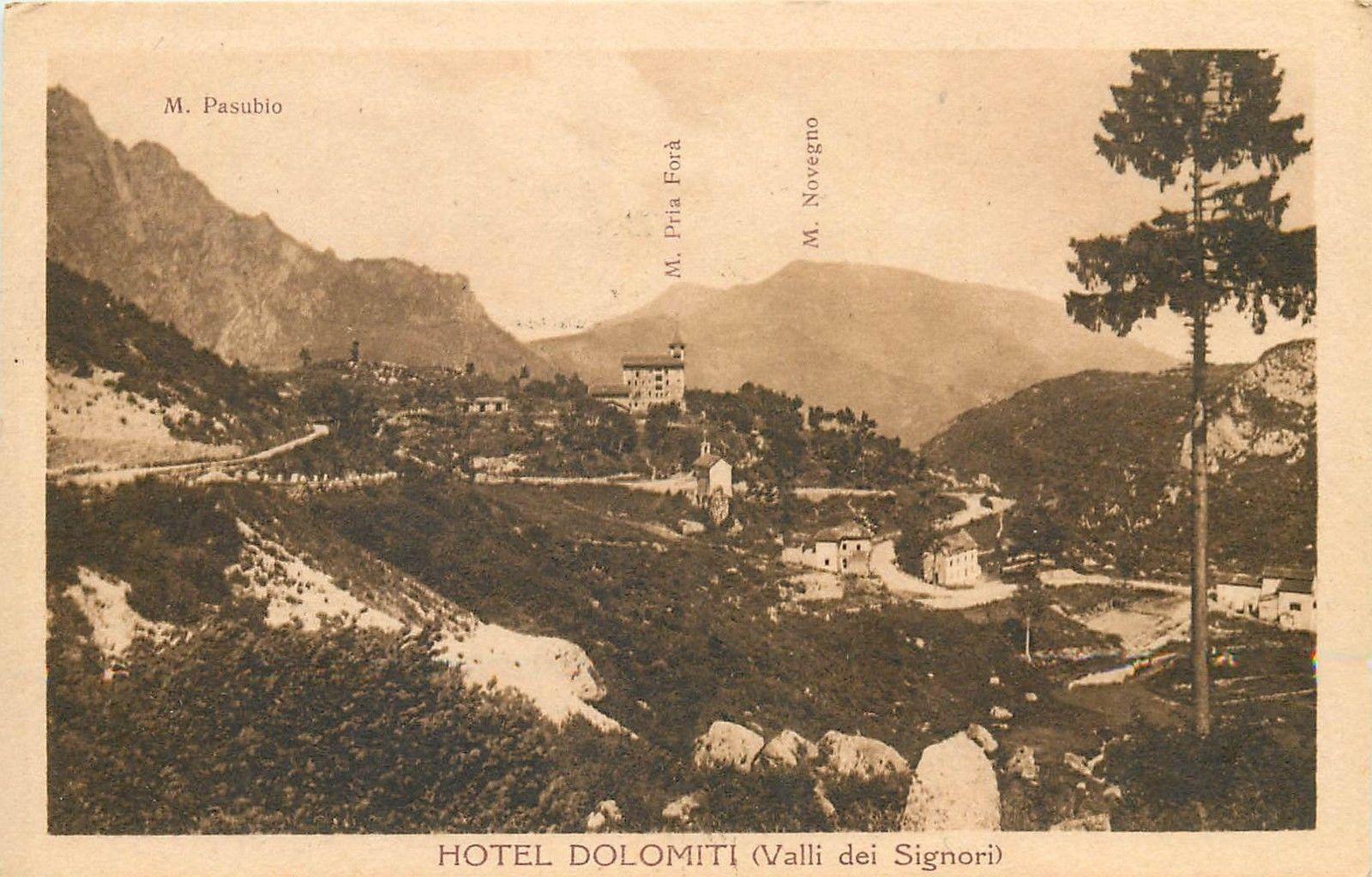 Italy Hotel Dolomiti Italia Valli Dei Signori Hippostcard