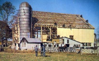 amish barn raising pa
