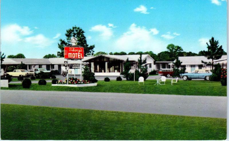 Cordele Ga Georgia Silvey S Motel 1963 Cars Roadside