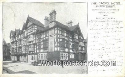 United Kingdom Uk England Great Britain Crown Hotel