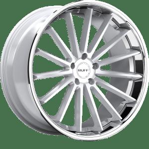 Ruff R3 Gloss Silver w/ Stainless Steel Lip