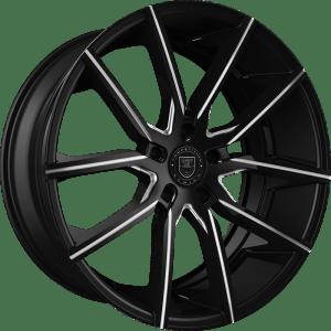 Lexani 662(MB) Gravity Gloss Black w/ Machined Face