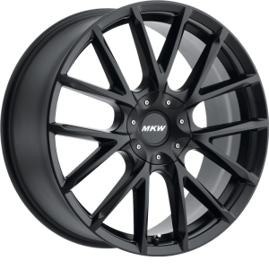 MKW M123 Gloss Black w/ Machined Face