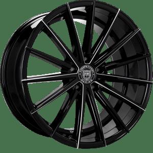 Lexani 661(FB) Pegasus Gloss Black