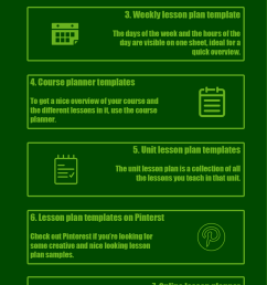 8 Free lesson plan templates fit for your teaching - BookWidgets [ 3357 x 1181 Pixel ]
