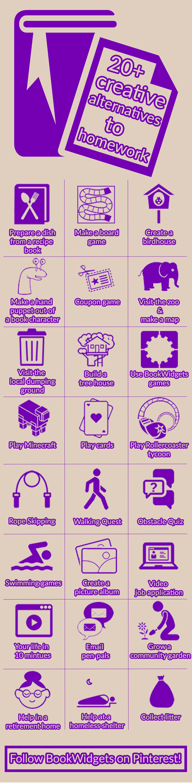 medium resolution of 20+ creative alternative homework ideas for teachers - BookWidgets