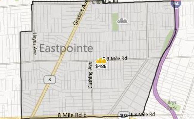 Eastpointe Mi Homes For Sale Inside Realty Llc Evduza